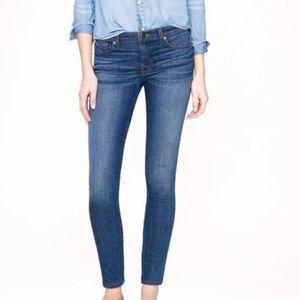 J. Crew | Medium Miller Wash Skinny Stretch Jeans